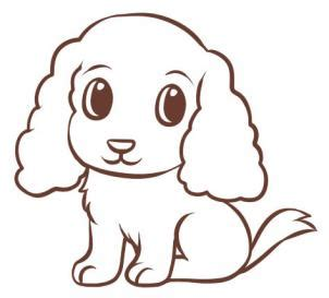how to draw a puppy easy how to draw an easy step by step pets animals free drawing tutorial