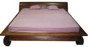 Loft Bed Indonesia Bed Frames Solid Teak Opium Style Designs
