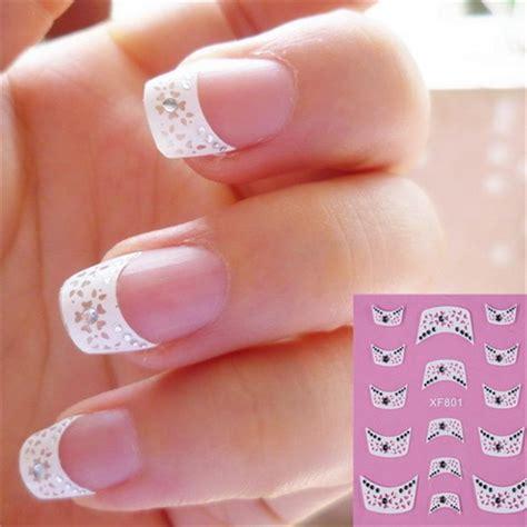 Nail Sticker Stiker Kuku Nail 3 fashion style water transfer nails sticker decals manicure tools
