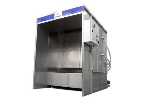 cabina di verniciatura impianti per il trattamento superficiale metalli