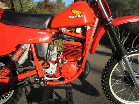 restored vintage motocross bikes for sale 1980 suzuki rm250 restored dirt bike motorcycle ahrma