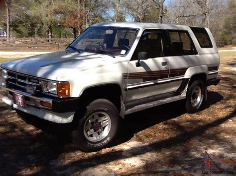 1986 Toyota 4runner 1986 Toyota 4runner Sr5 Sport Utility 2 Door 2 4l