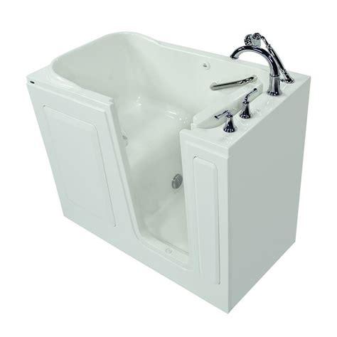 home depot walk in bathtub american standard gelcoat standard series 51 in x 31 in