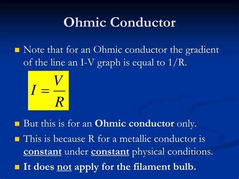 ohmic resistor characteristics ohmic resistor characteristics 28 images ppt iv characteristics powerpoint presentation id
