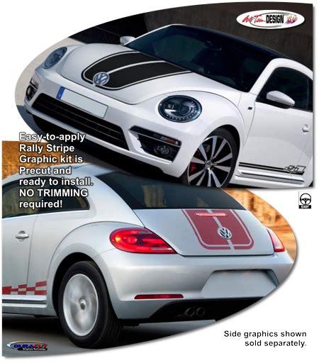 volkswagen beetle graphics decals volkswagen beetle rally stripe graphic kit 1