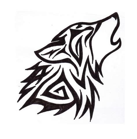 simple wolf tattoo best 25 simple wolf ideas on simple