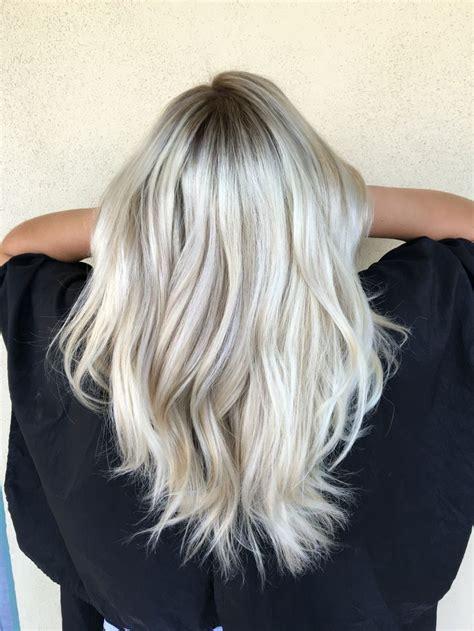 silver blonde root shadow hair ideas pinterest best 25 ice blonde hair ideas on pinterest white blonde