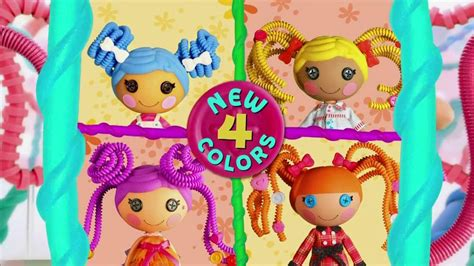 lalaloopsy hairstyles games lalaloopsy silly hair tv commercial ispot tv