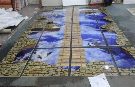 Foshan 3d Floor Art Factory Price Inhabit 3d Wall Tiles