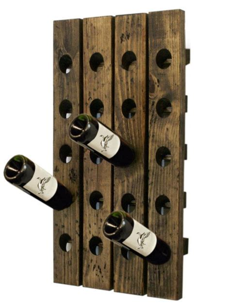 Pottery Barn Wine Rack Wall by 17 Best Ideas About Wall Hanging Wine Rack On