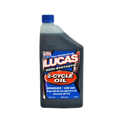 Lucas Semi Synthetic 2 Cycle lucas semi synthetic 2 cycle 1qt 10110 6 50 r r cycles inc specializing in american
