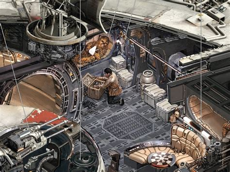 Air Force One Layout Floor Plan kemp remillard millennium falcon 9 mffanrodders s blog