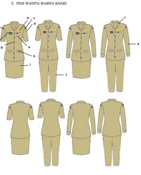 Pakaian Dinas Harian baru permendagri nomor 6 tahun 2016 tetang pakaian seragam