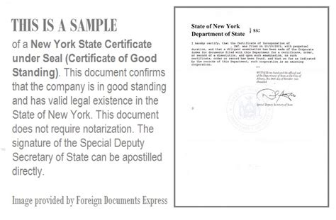 web design certificate new york certificate of good standing sle lawyer images