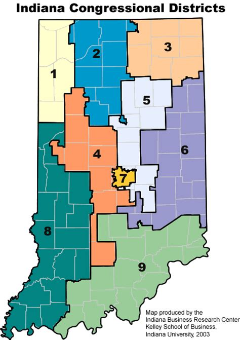house districts map boundary maps stats indiana