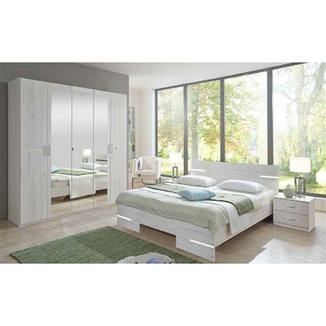 Miroir De Salon 3212 by Lit 2 Places 140x190cm Ch 234 Ne Blanc Chrome Belhome