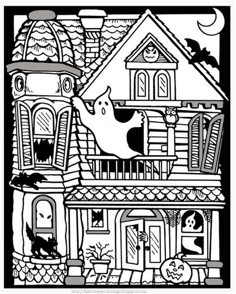 printable house pdf printable halloween coloring pages printable halloween