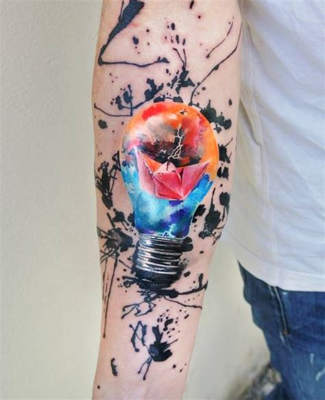 light bulb journey tattoo best tattoo ideas gallery