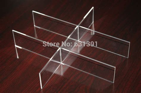 Acrylic Drawer Divider high quality fashional clear acrylic divider for makeup