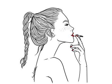 imagenes cool para dibujar ilustraciones con un toque hipster y de mucha vida