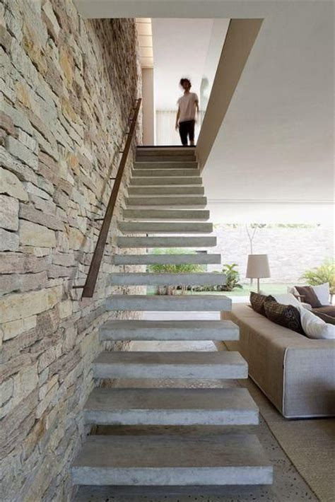 Concrete Stair Design Of Your paredes pedras staircases interiors and staircase design