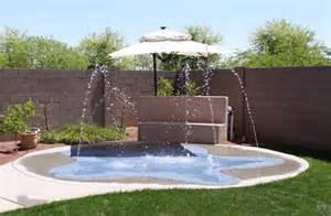 residential arizona splash pads