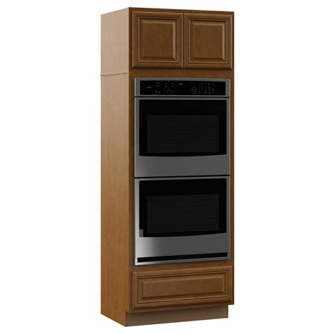 double oven cabinet home depot hton bay cambria assembled 33 x 90 x24 in pantry