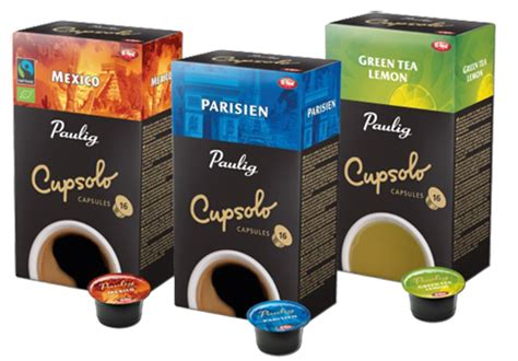 New flavours for the Paulig Cupsolo capsule coffee maker