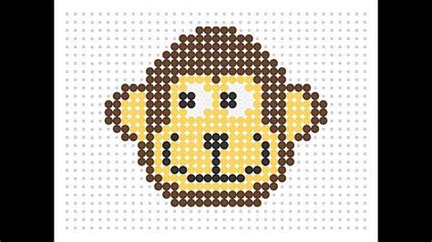 hama animals hama bead monkey animal series 2 5