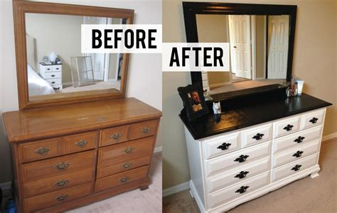 diy dresser diy black and white dresser makeover thriftingpretty