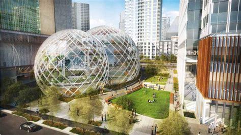 k par k siege social amazon reveals plans for biosphere hq in seattle to take