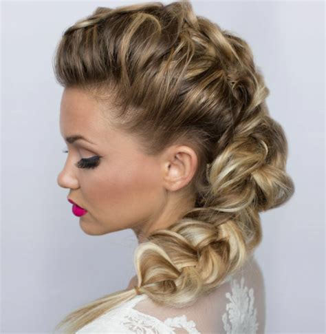 hair style poofed up in back of crown hair toppiks the evolution of braids this year s hottest