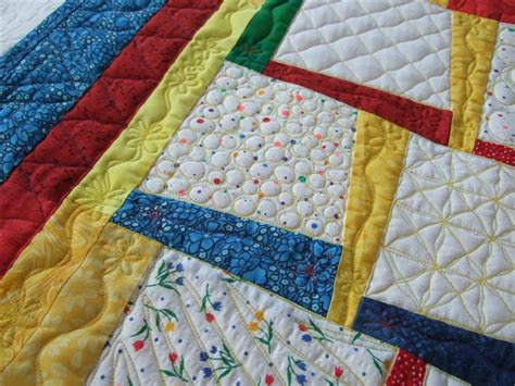 Free Style Quilting by Crafty Sewing And Quilting The Denim Block Blue