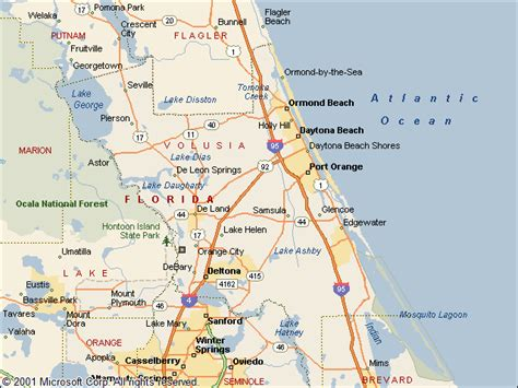 map of volusia county florida usgs groundwater