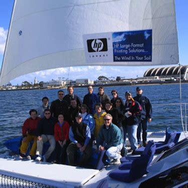 catamaran san diego events corporate events san diego aolani catamaran sailing