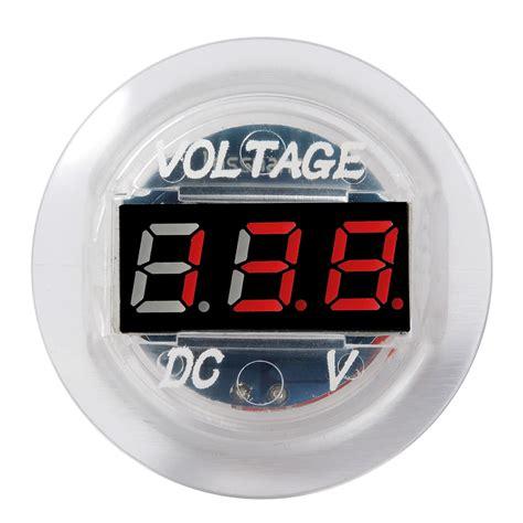 Motorrad Batterie Voll Geladen by 12v 24v Auto Motorrad Kfz Led Spannungsanzeige Dc