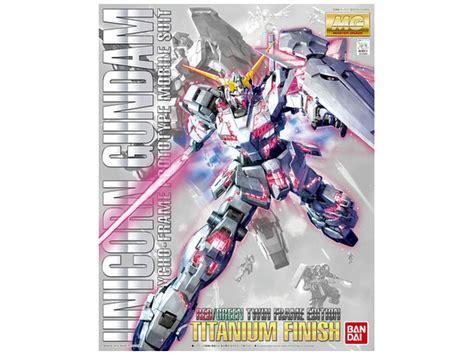 Mg Unicorn Gundam Titanium Finish Green Frame Edition 1 100 mg rx 0 unicorn gundam or green frame frame edition titanium finish by bandai