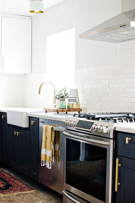navy cabinets kitchen dreams navy white brass kitchen laundry