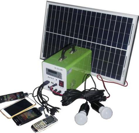 solar panel light kit 20w mini solar light kits with controller led display