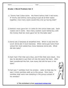 simple addition and subtraction worksheets grade 1