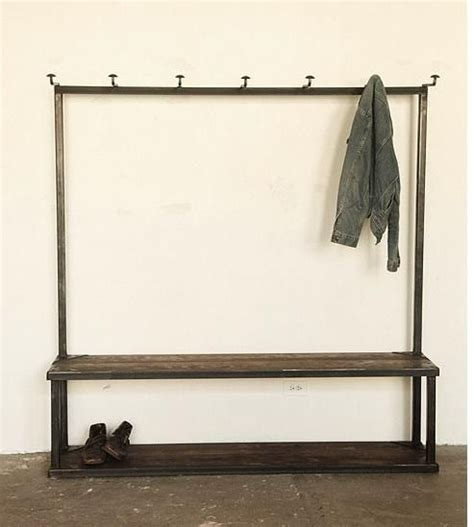 coat rack with bench and storage bench coat rack for the home pinterest