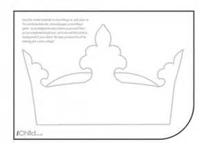 Paper Crown Template For Adults by Crown Collage Ichild