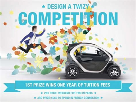 graphic design competition uk renault uk launches design a twizy competition car