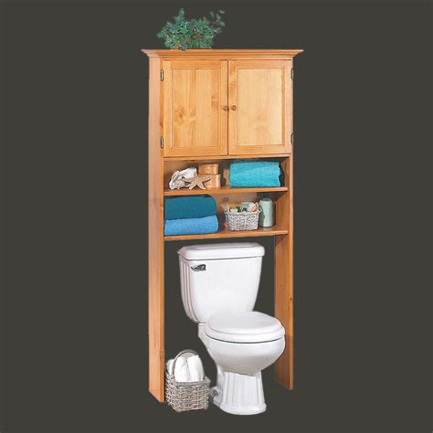wood bathroom storage the toilet storage cabinet decofurnish