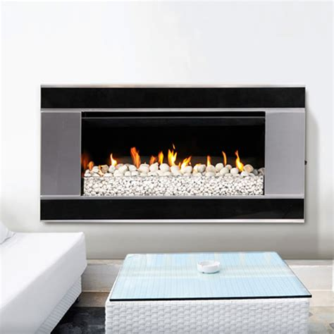 escea ef5000 outdoor gas fireplace with verta stainless