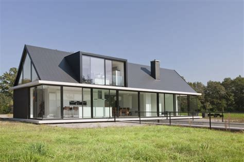 house plans barn style dise 241 o de casa moderna de una planta construye hogar