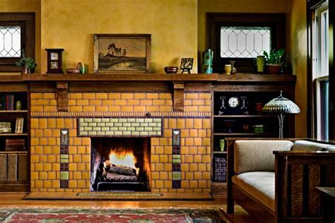 bungalow fireplace 3 steps for tiling a fireplace old house online old