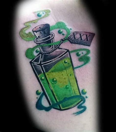 tattoo ink poisoning 40 poison bottle designs for killer ink ideas