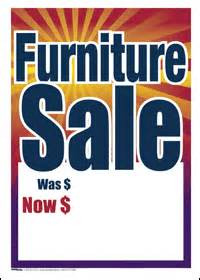 sale tags for furniture stores