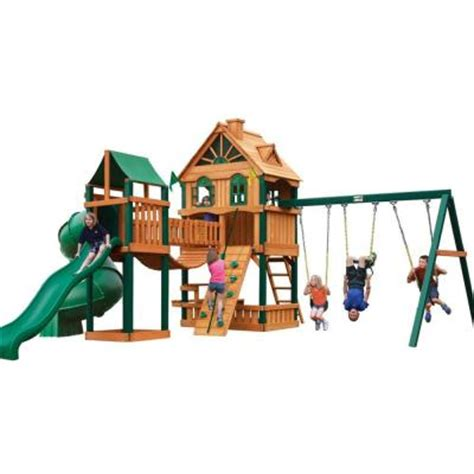 Gorilla Playsets Woodbridge Cedar Play Set 01 1015 The